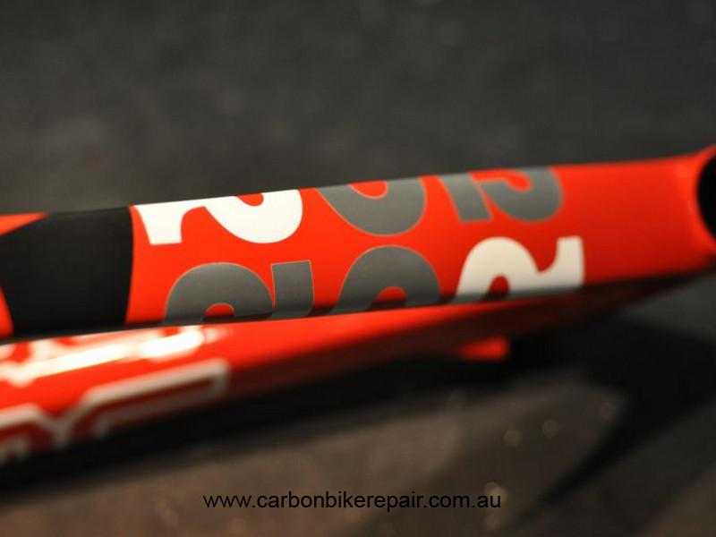 BMC SLC01 top tube after