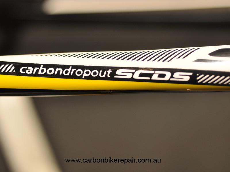 Scott seat stay graphics detail after 1